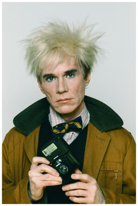 Andy Warhol © Pierre Houles, 1982 bn