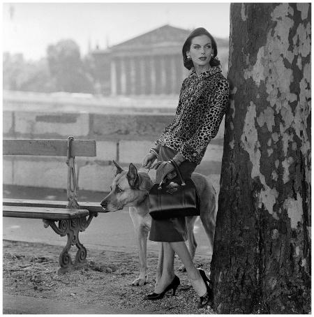 Anne St.Marie  Chanel F:W 1955 Photo Henry Clarke