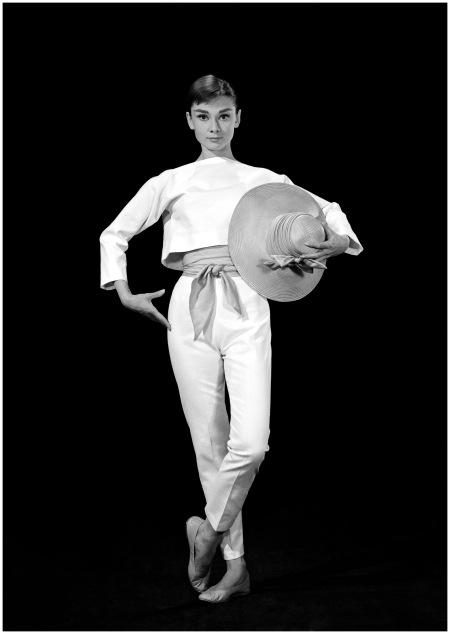 Audrey Hepburn, (Funny Face) Photo Bud Fraker, 1956