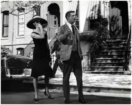 Audrey Hepburn & George Peppard (Breakfast at Tiffany's) 1961