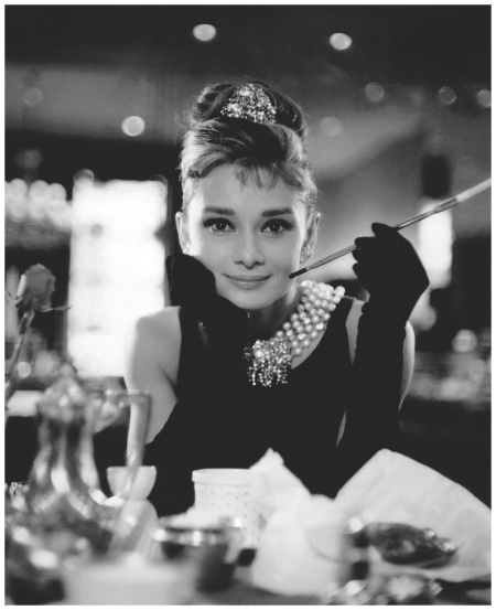 Audrey Hepburn Hepburn In 'Breakfast at Tiffany's' 1961