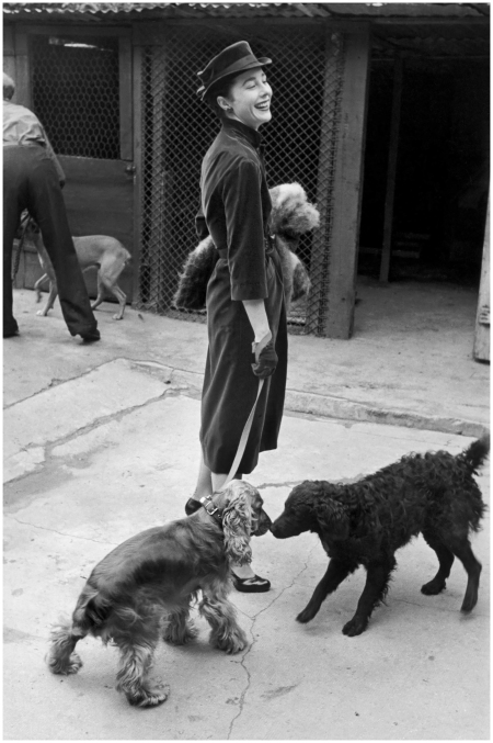 Bettina Graziani Photo Henri Cartier-Bresson 1951