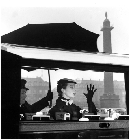 Bettina Graziani - Photo Jean-Philippe Charbonnier 1953