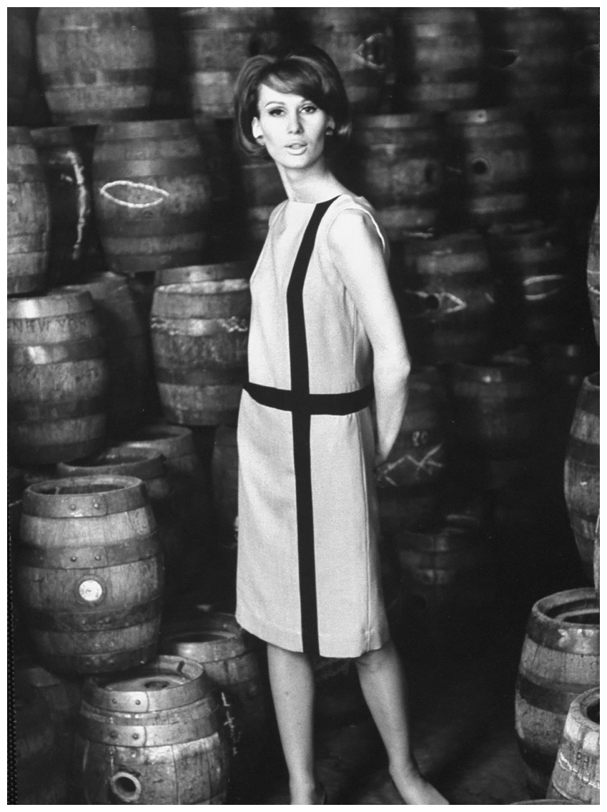 European Model Brigitte Bauer 1963