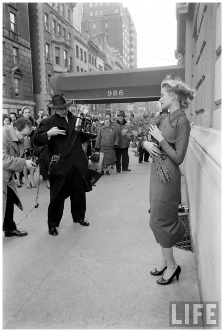Grace Kelly March 1956. Photo Lisa Larsen