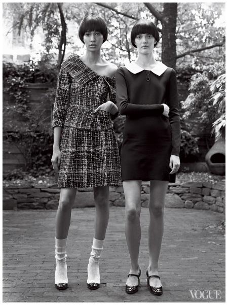 Joan Smalls & Sam Rollinson US Vogue - January 2014 Photo Craig McDean 2014 a