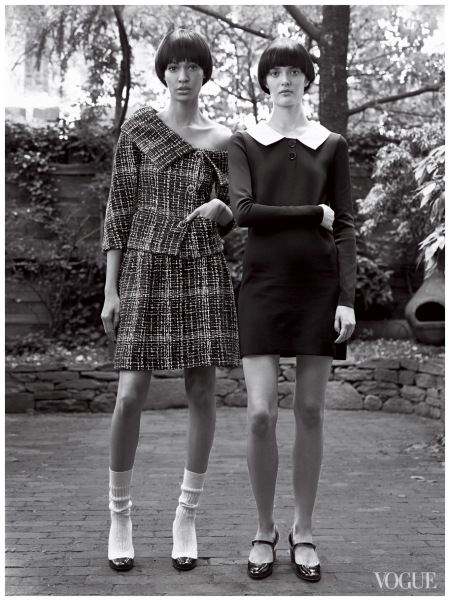 Joan Smalls & Sam Rollinson US Vogue - January 2014 Photo Craig McDean 2014 a