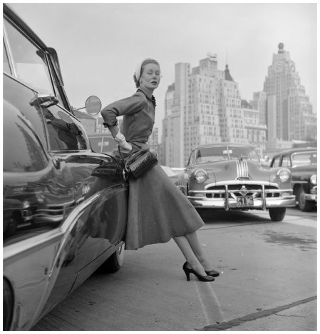 Vogue Condé Nast in New York, fashion Archive Photo Ernst Haas