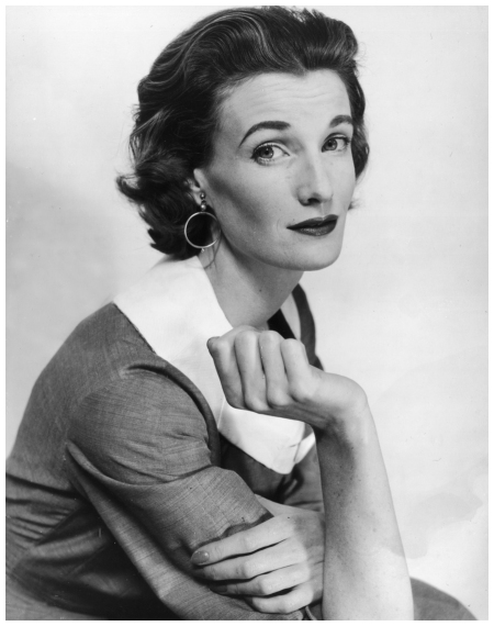Wenda Parkinson, the wife of fashion photographer Norman Parkinson. 1955 (Photo by Evening Standard-Getty Images)