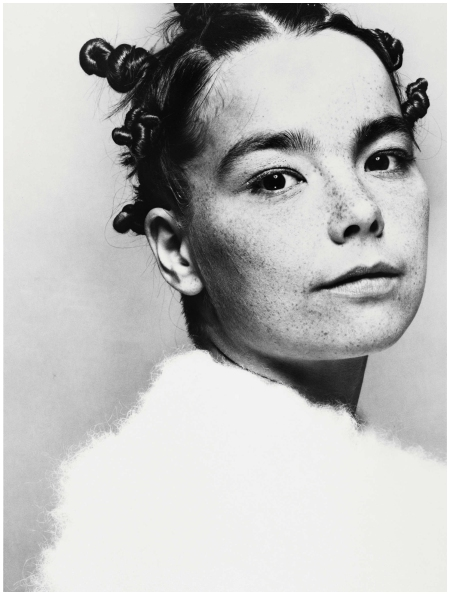 Björk The Face, 1993 Photo Glen Luchford