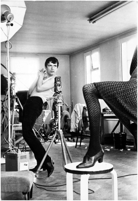 David Bailey Photographing Moyra Swan, 1965 Terry O'Neill