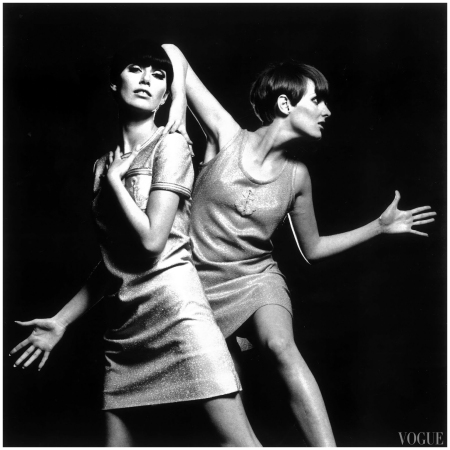 Grace And Telma, Vogue Italia, 1966 %22 2 Blow Up%22 Photo Erica Swayne