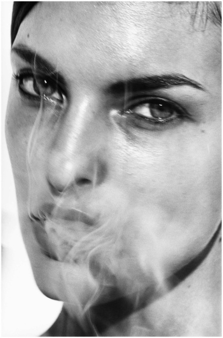 Linda Evangelista, Paris, France, 1990Photo Peter Lindbergh