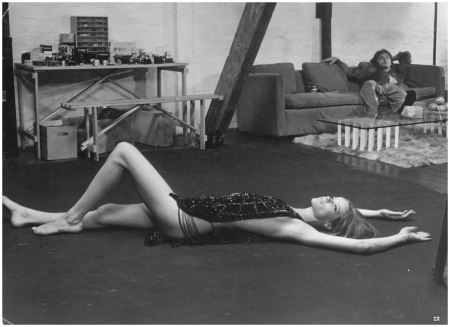 Veruschka And David Hemmings In Blow-Up, 1966 Courtesy of Neue Visionen Filmverleih GmbH
