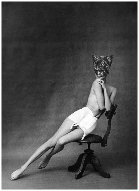 Ad for Chantelle lingerie Paris, 1958%22 Photo Frank Horvat