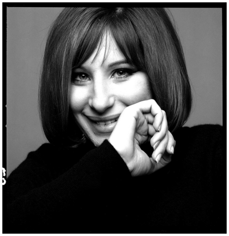 Barbara Streisand 1966 Photo Bert Stern
