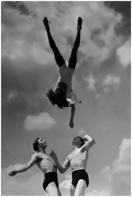 Dancer Peggy Wilson in the air, January 1934 Condè Nast Archive Photo Lusha Nelson