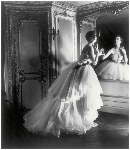 Dior Ballgown Paris 1950 - Photo Louise Dahl-Wolfe