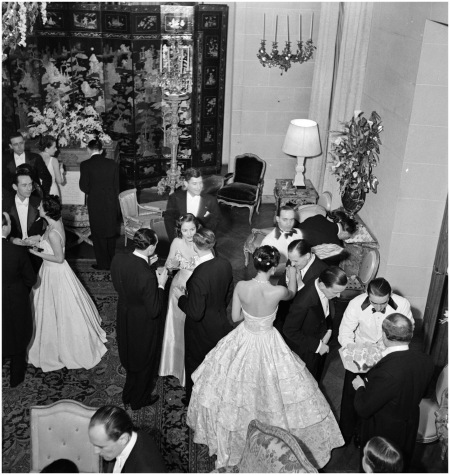 Elsie De Wolfe's Birthday Dinner, Paris, 1938 Photo Roger Schall