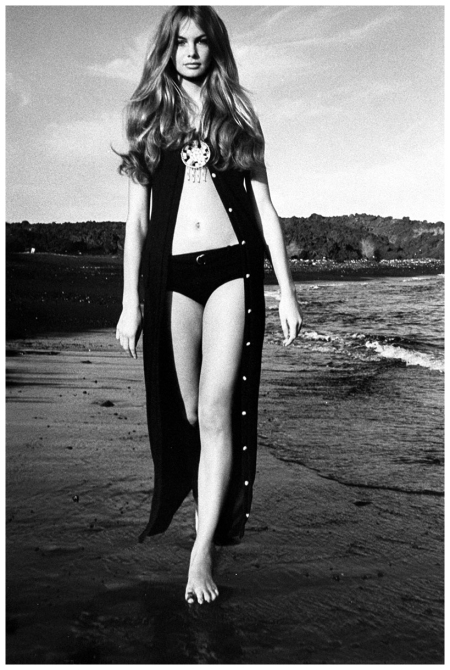 Jean Shrimpton Photographed by David Bailey, Vogue, January 15, 1970
