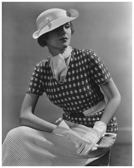 Lusha Nelson Vogue - January 1935