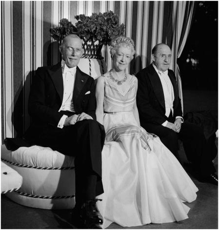 Sir George Clerk, Elsie De Wolfe, Sir Charles Mendl, 1938