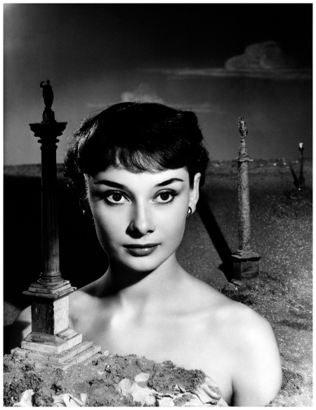Audrey Hepburn by Angus McBean, October 1950