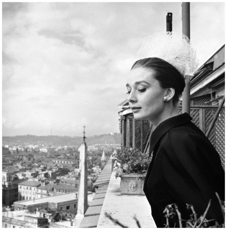 Audrey Hepburn in Rome by Cecil Beaton, 1960