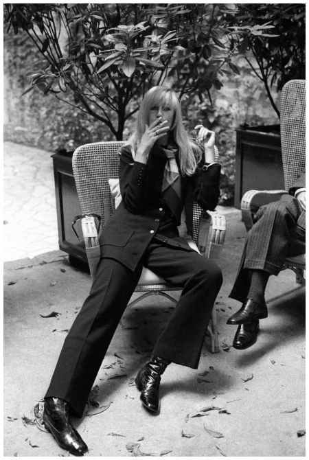 Betty Catroux The YSL muse has always been a paragon of menswear chic Photo Mary Russell