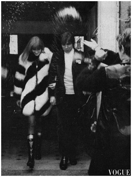 Betty Saint and François Catroux, 1968 Jack Robinson, Vogue, February 15, 1968