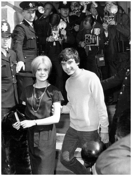 Catherine Deneuve David Bailey  London, 18 august 1965 Keystone