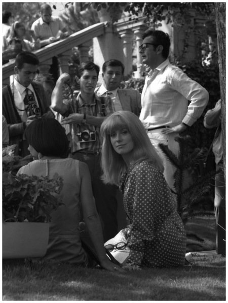 Catherine Deneuve Hôtel Excelsior  Venice,  1968 Getty Archive