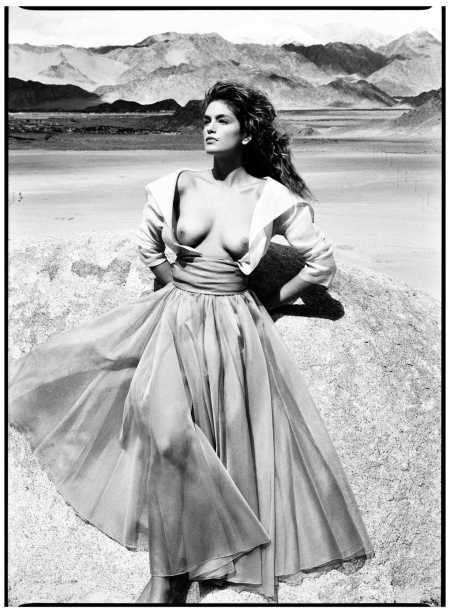 Cindy, Leh, India, 1989 - Photo Patrick Demarchelier
