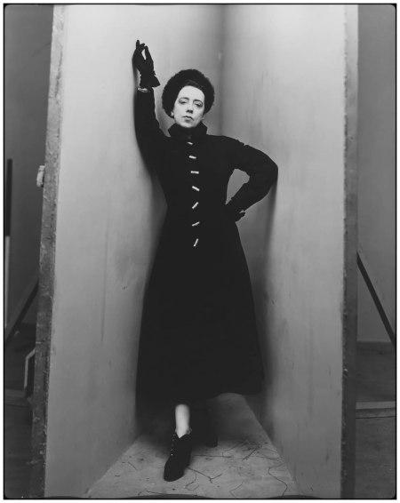 """Elsa Schiaparelli,"" 1948, Photo Irving Penn"