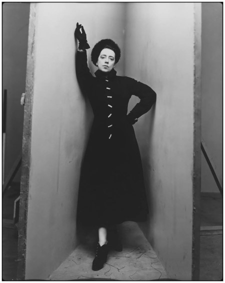 """Elsa Schiaparelli,"" 1948, Photo Irving Penn"
