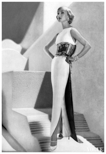 Evely Tripp Vogue Feb 1959
