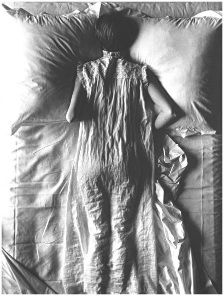 Girl in Bed (Jean Patchett), New York, 1949