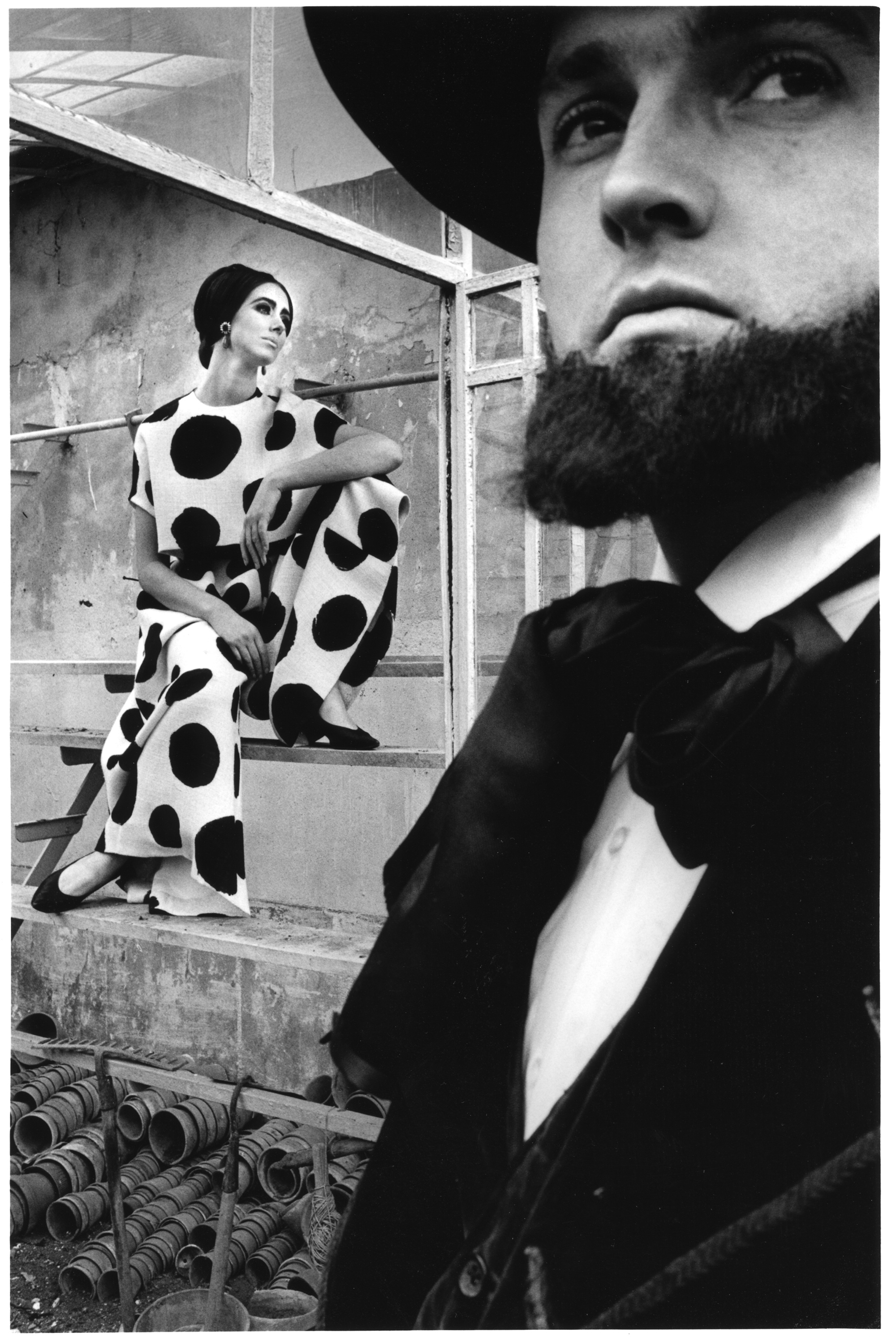 Evelyn Claus Ag Harper Photo Jeanloup Sieff