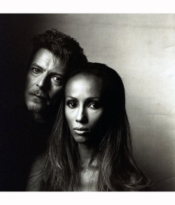 Iman & David Bowie Vogue, June, 1994 Photo Irving Penn