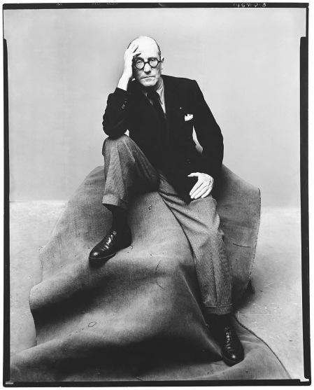 Le Corbusier, New York, 1947 Photo Irving Penn