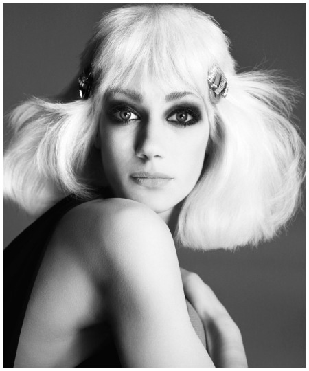 Marisa Berenson, hair by Ara Gallant, New York, February 18, 1972