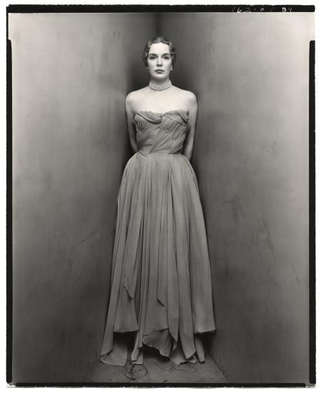 Mrs.William Rhinelander-Stewart Coner portait 1960's Photo Irving Penn