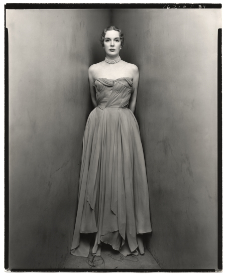 Mrs.William Rhinelander-Stewart Coner portait 1960's Photo Irving Penn