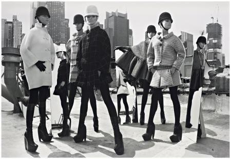 Photo Mark Seliger Mod Fashion, NYC, 2006