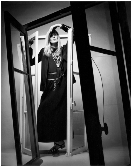 Portrait of Betty Catroux for Vogue France, 1969 This image has 1 BOUTIQUE item + Indiscretions Unpublished Photographs by Jeanloup Sieff