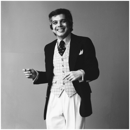 Ralph Lauren 1970 Studio portrait of American fashion designer Photo Jack Robinson