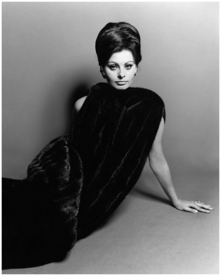 Sophia Loren Photo Bert Stern , October 1963