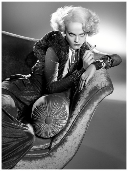 Viktoriya Sasonkina Vogue 2008 Photo Steven Meisel e