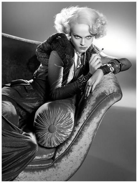 Viktoriya Sasonkina Vogue 2008 Photo Steven Meisel e