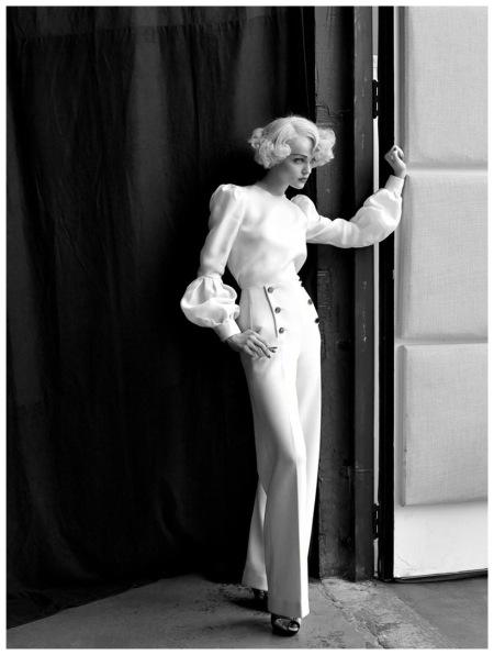 Viktoriya Sasonkina Vogue 2008 Photo Steven Meisel g